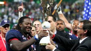USA vinner amerikansk fotbolls-VM 2011.
