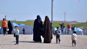 Barn som har levt under IS styre