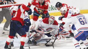 I skadade Carey Prices frånvaro fick Antti Niemi vakta Montreals mål.