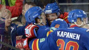 Jokerit firar i KHL.