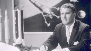Wernher von Braun suunnitteli kantoraketteja