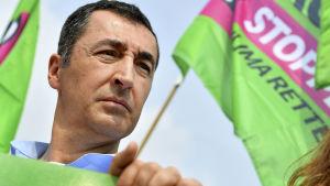 Cem Özdemir, det tyska gröna partiets ena ordförande.