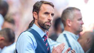 Gareth Southgate är Englands förbundskapten.