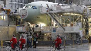 airbus fabrik i frankrike.