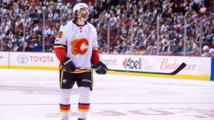 Jaromir Jagr i Calgarys tröja