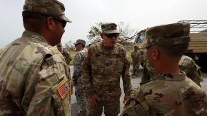 Det är tredje gången på 12 år som USA:s nationalgarde kallas in till den sydvästra gränsen mot Mexiko