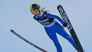 Julia Kykkänen slutade på 20:e plats i världscuptävlingen i Rasnov.
