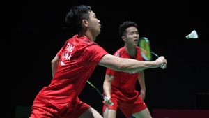 Kina är det bästa landet i badminton.