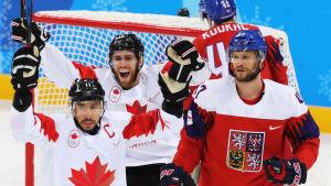 Kanada spelar nästan alltid för medalj i ishockey.