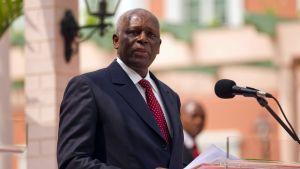 President José Eduardo dos Santos ledde Angola i nästan 40 år innan han avgick år 2017.
