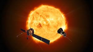 Solar Orbiter ja Parker-aurinkoluotain