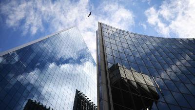 Affärsfastigheter i London i augusti 2020.