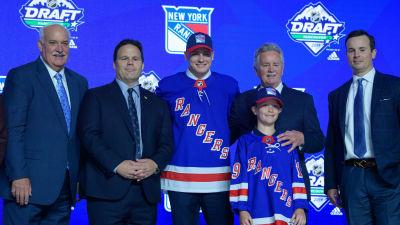 Kaapo Kakko var New York Rangers val i draften 2019.