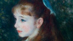 Pierre-Auguste Renoirin taulu Irene-tytöstä.
