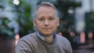 Porträtt på Joakim Stolpe.