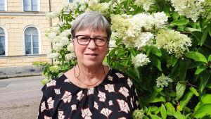 Monica Johansson är rektor för Borgå Gymnasium.
