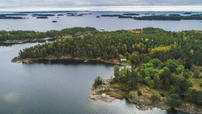 Tovö skärgårdshemman i Ekenäs skärgård.
