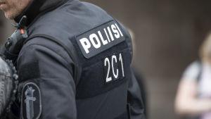Poliisin selkämerkki