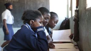 Skola i Nyanga i Zimbabwe
