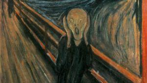 Edward Munch, Skriet