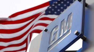 GM:s huvudkontor i Detroit i USA