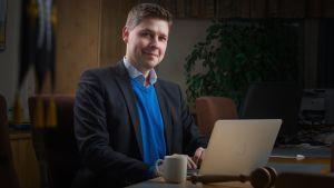 Kommundirektör i Pielavesi.