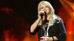 Bonnie Tyler edusti Isoa-Britanniaa vuonna 2013 Euroviisuissa.