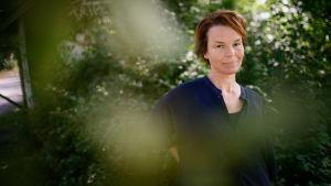 Porträtt på Anna Järvinen.
