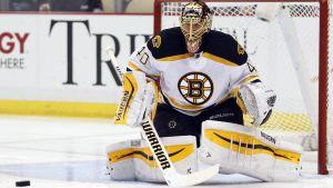 Tuukka Rask i Boston Bruins 2015.