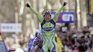 Kjell Carlström vinner tredje etappen i Paris-Nice 2008.