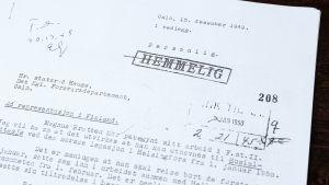 Norska Magnus Bratten arbetade som spion i Finland på 1950-talet.