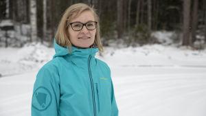 Pohjois-Karjalan keskussairaalan erikoistuva lääkäri Terhi Savolainen