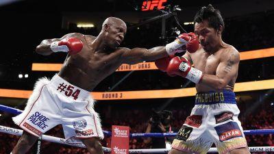 Manny Pacquaio boxades senast mot världsmästaren Yordenis Ugas i augusti i Las Vegas, en match som Pacquaio förlorade.