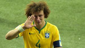 David Luiz efter matchen mot Tyskland