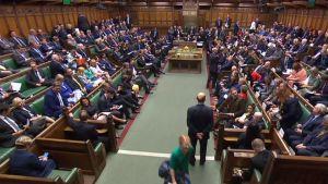 Det brittiska parlamentet 25.9.2019