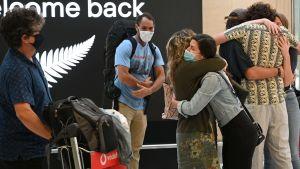 Glatt återförenande mellan Australien och Nya Zeeland 19.4.2021