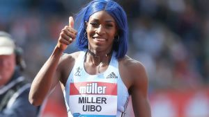 Shauene Miller-Uibo, sprinter från Bahamas