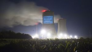 Kärnkraftverket Grafenrheinfeld i Tyskland