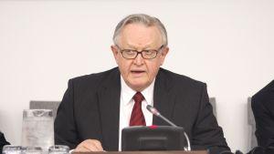 President Martti Ahtisaari i juni 2010