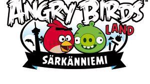 Logot för Angry Birds Land
