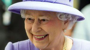 Drottning Elisabeth II i ett foto från 27.02.2013