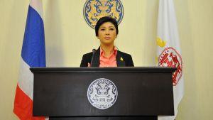 Yingluck Shinawatra utlyser nyval