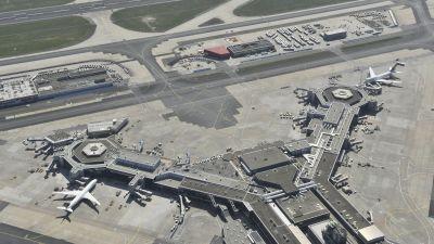 Flygplatsen i Frankfurt