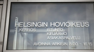 Helsingin hovioikeus 14.3.2016
