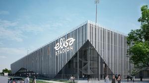 Elisa stadion.