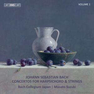 Bach: Concertos for Harpsichord & Strings, Vol. 1 / Bach Collegium Japan