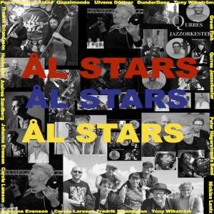 Bild på alla artister som tillhör Ål Stars.
