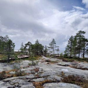 Fäbodan kallioita