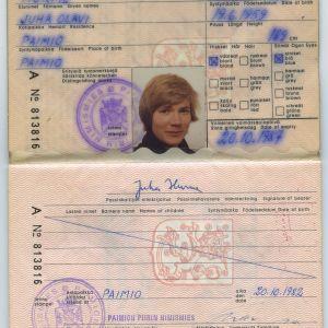 Juha Hurmeen passi