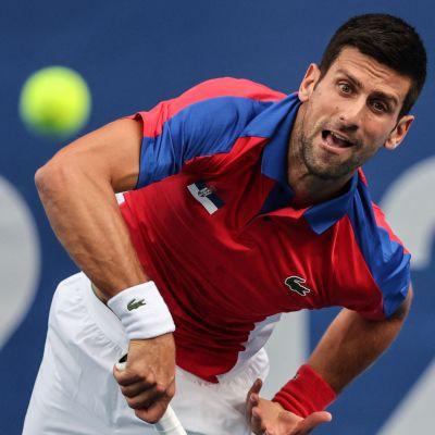 Novak Djokovic i OS.